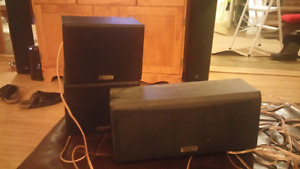 Kenwood surrounds and centre speaker