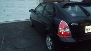2007 Hyundai Accent Coupe (2 door) $2100