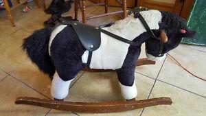 """Toy Rocking horse - Chrisha """"Playful Plush"""""""