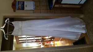 Simple white dress for sale