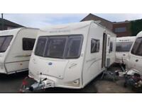 BAILEY SENATOR CALIFORNIA 4 BERTH FIXED BED END BATHROOM