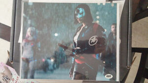 "Signed Karen ""Katana"" Fukuhara 8X10 Print from Suicide Squad"