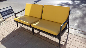 DANISH MODERN TEAK COUCH AND TWO CHAIRS c.1960