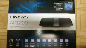 Linksys AC wireless router