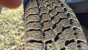Never used Winter Tires x2