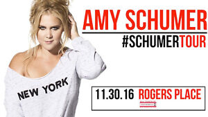 Selling A Pair of Upper Deck Amy Schumer Edmonton Tickets