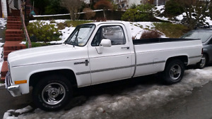 1984 Chevy c20 REDUCED