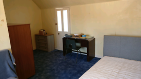 A very large double bedroom fully furnished and inclusive of all bills
