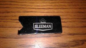Sleeman  money clip/ bottle opener