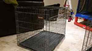 Large wire dog crate Windsor Region Ontario image 1