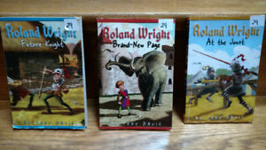 3 Roland Wright Future Knight series chapter books by Tony Davis