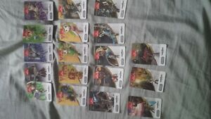 BOTW amiibo NFC Cards (All 18 incl 3 new released tags) $100obo