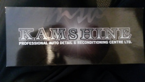 $250 Auto Detailing Gift Card