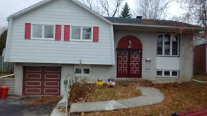 House in Dollard for rent July Maison a louer