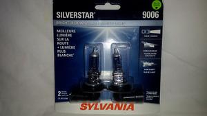 "9006 Sylvania ""Silverstar"" Headlight bulbs"