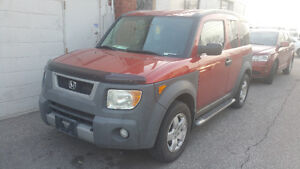 2004 Honda Element w/Y Pkg Sunroof All Wheel Drive Safety Emiss