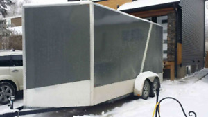 New Cargo trailer 7fit*16fit*8fit. Extra 4 fit space in the nose