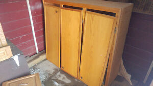Cabinets and Cupboards priced to go!