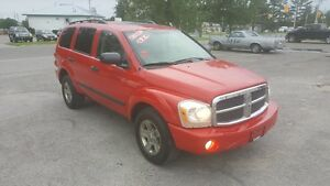 2007 DODGE DURANGO 4X4 *** FULLY LOADED ** CERTIFIED $7995