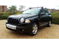 ''DEPOSIT TAKEN'' 2007 LHD Jeep Compass 2.4 CVT LTD P. Au, 4x4 LEFT HAND DRIVE