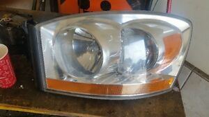 2006 Ram Driver headlight and other body panels