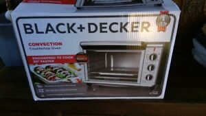 Black and decker large convection oven-price drop