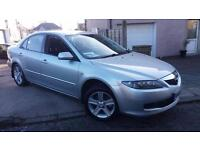 2005 55 MAZDA 6 2.0 TS 4 DOOR.1 OWNER FROM NEW WITH A F/S/H.JUST SERVICED.2XKEYS