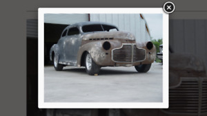 1941 Chevy Coupe Chopped Street Rod Project