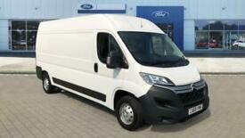 2020 Citroen Relay 35 L3 Diesel 2.2 BlueHDi H2 Van 140ps Enterprise High Volume/