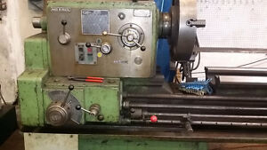 Lathe Metal 24 x 120 with accessory 220/440 volt