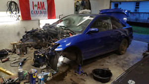 2004 civic coupe part out