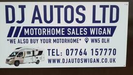 motorhomes wanted £££ collection today uk coverage contact dave today