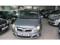 2006 VAUXHALL ZAFIRA CLUB 16V Grey Manual Petrol
