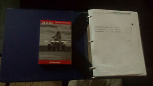 2008 TRX250EX owners manual and service manual
