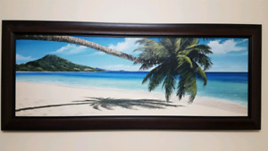 Tropical Canvas Wall Art - $30