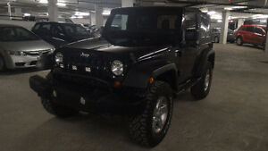 """2012 Jeep Wrangler JK - 2"""" Lift and New Tires"""
