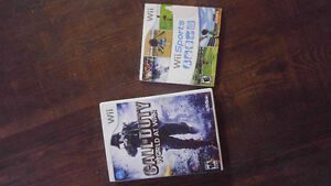 Call of Duty World at War & Wii Sports