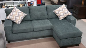 Gorgeous Sofa with Reversible Chaise Lounge