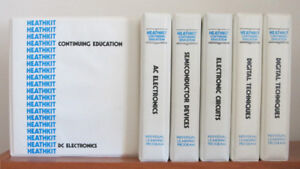 Heathkit Electronics - 5 Individual Learning Program Courses