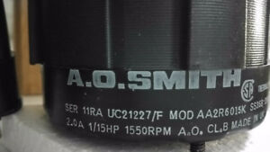 A.O. Smith  motor      for sale