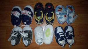 Infant Baby Boy Shoes Lot - 6 Pairs for Only $25