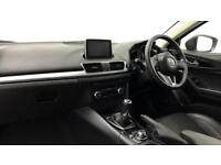 2016 Mazda 3 2.0 Sport Nav 5dr Petrol white Manual