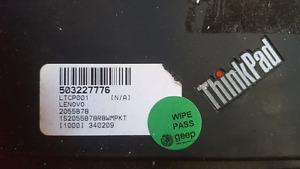Lenovo ThinkPad industrial laptop