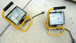 Portable Halogen Construction Work Light