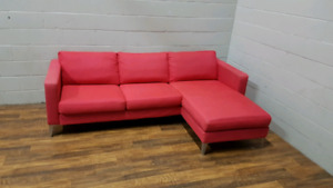 Free delivery: Ikea Karlstad sectional sofa