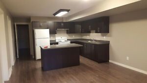 Brand New, Bright and open concept basement suite
