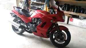 1995 GPZ 1100 trade for touring bike.