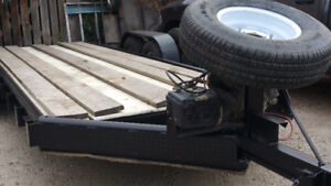 20  foot monarh trailer with winch