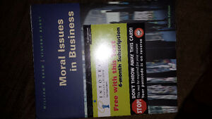 Moral Issues in Business - Ninth Edition NEW!! WRAPPED!