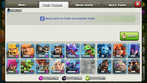 Clash of Clans TH 9 Max upgrades